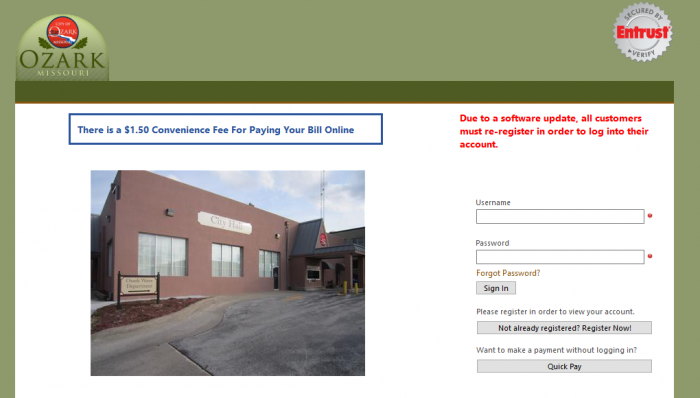 Just saw this on my locals water utility website. Pretty sure they lost the database.