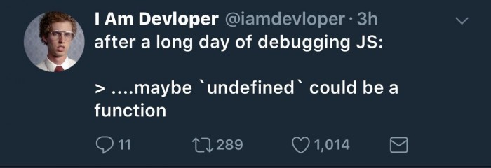 after a long day of debugging JS