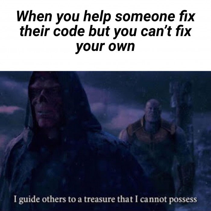 Fixing other someone else's code