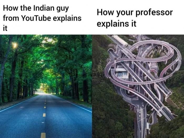 Indian guy on Youtube