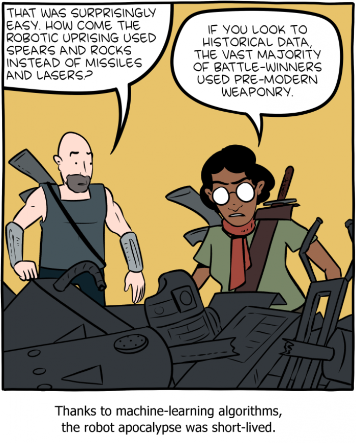 [smbc] Rise of the Machines
