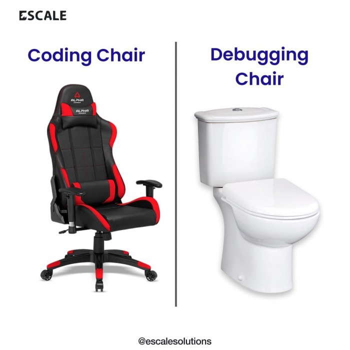 Debugging chair