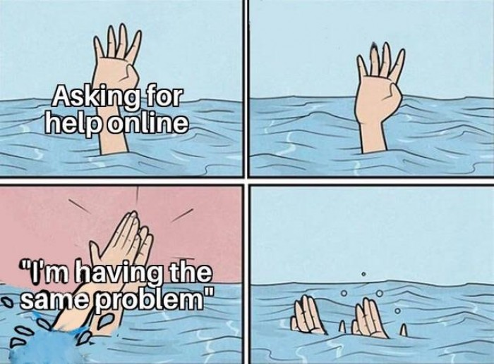 Drowning together in stack overflow