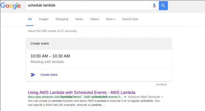 Google Strikes Again
