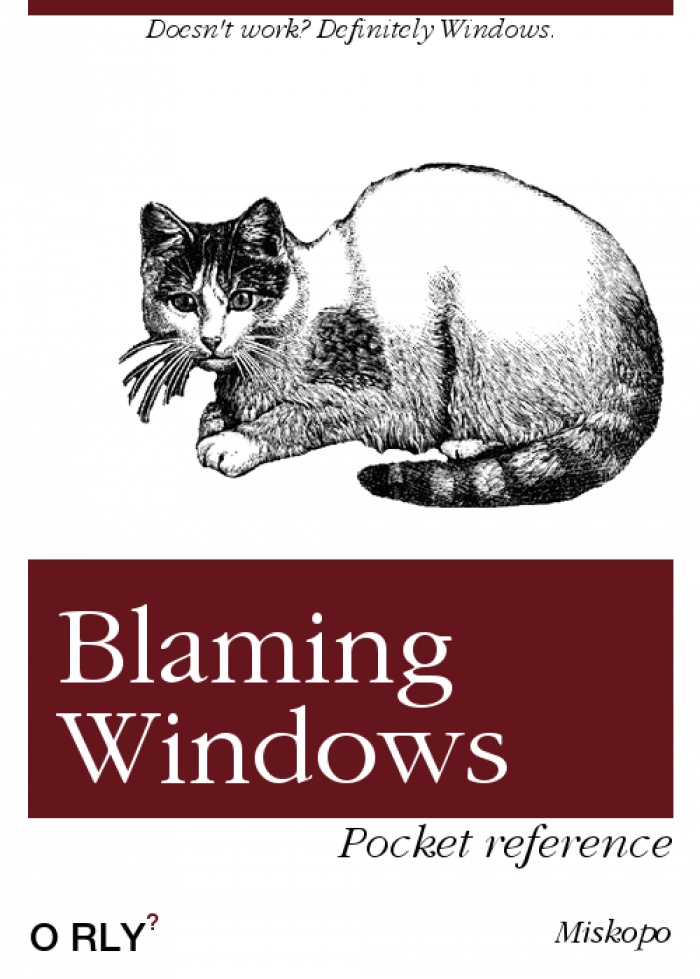 As a linux user in a company with strict Windows policy