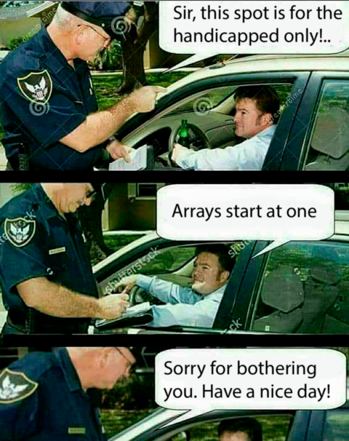 Disabled arrays