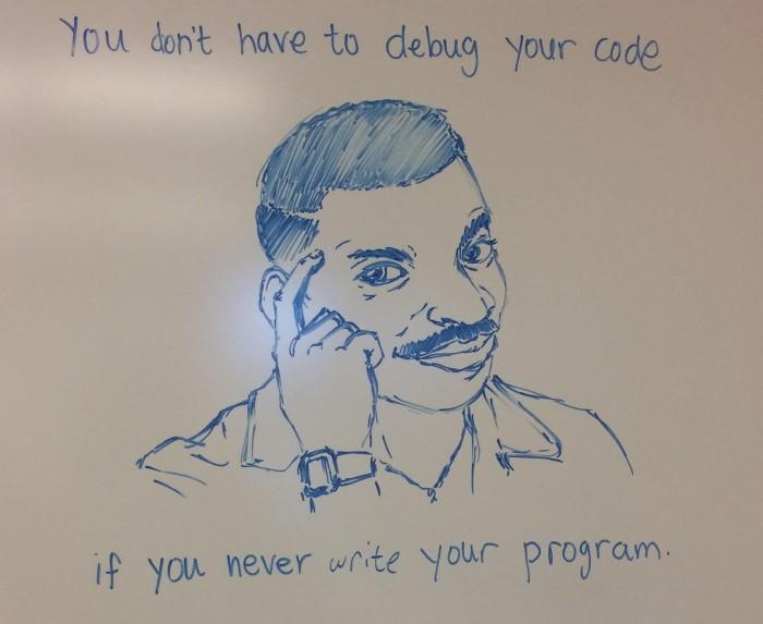 No code, no bugs