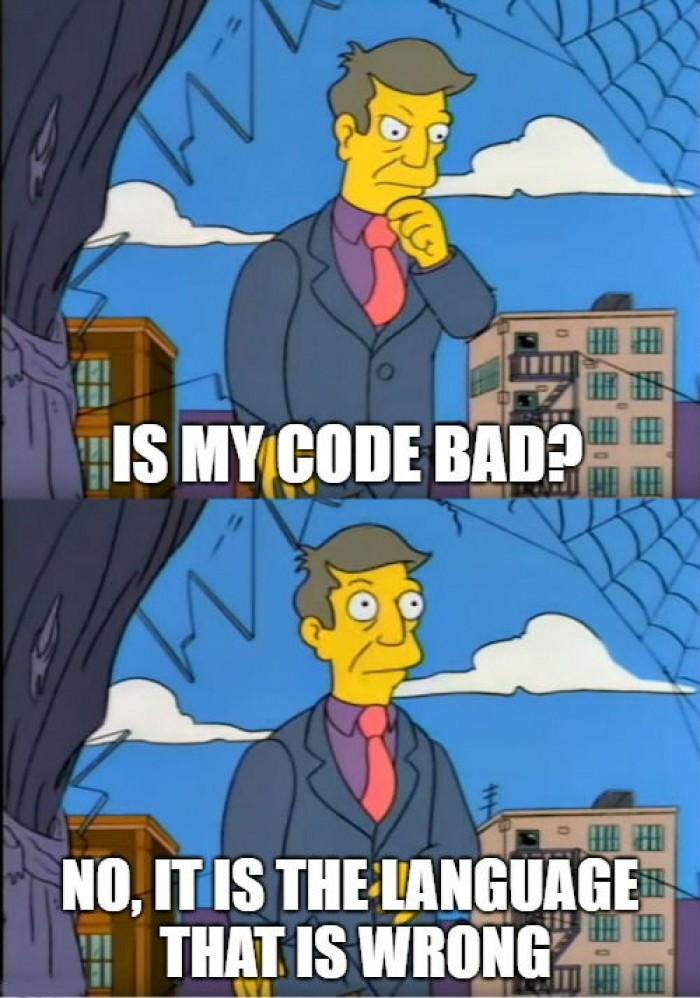 Hecking language developers