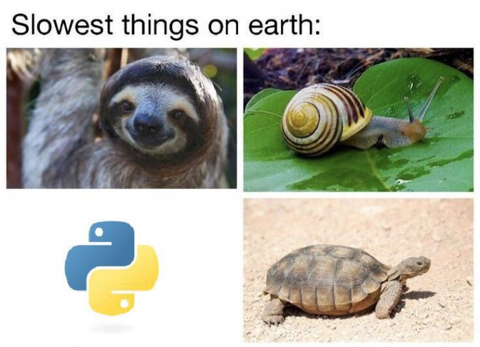 Python is great