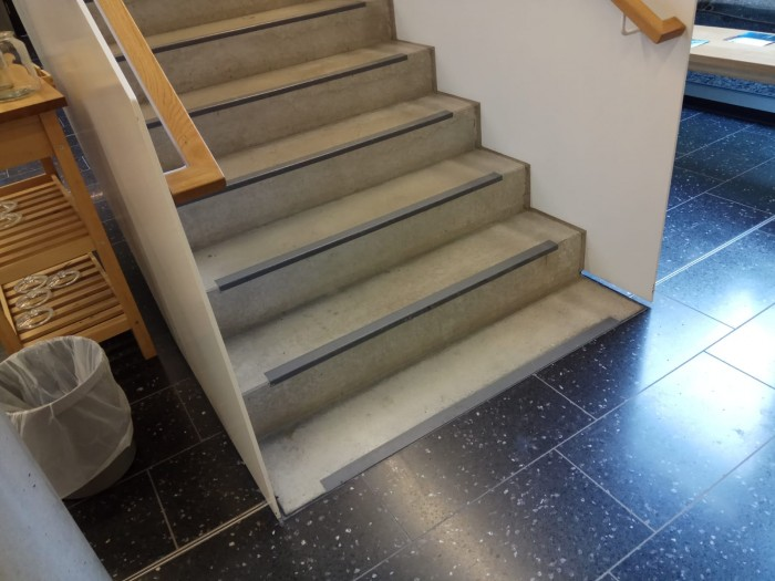 I'm all for arrays starting at 0, but seriously, stair steps?!