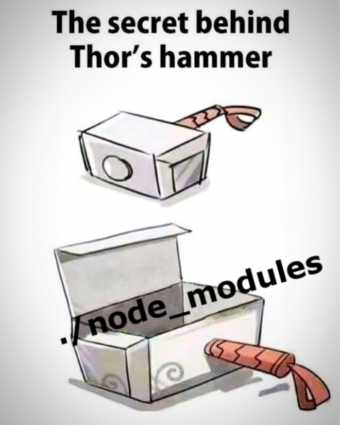 Now we know why it's so heavy