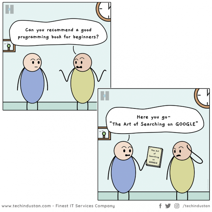 The Best Programming Book | Funny Programming Comic