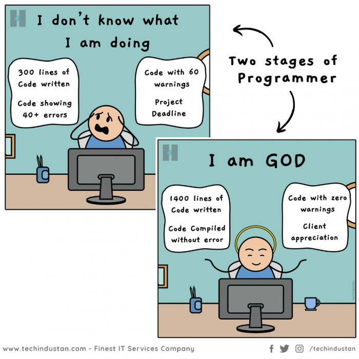 Either it Works or It Doesn't | Funny Programming Comic