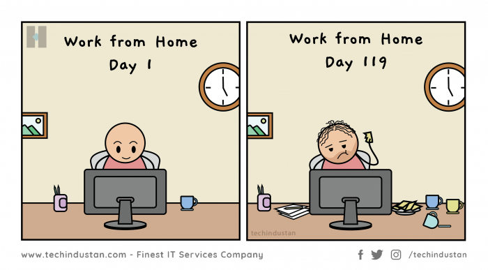 Work From Home Life of Techies