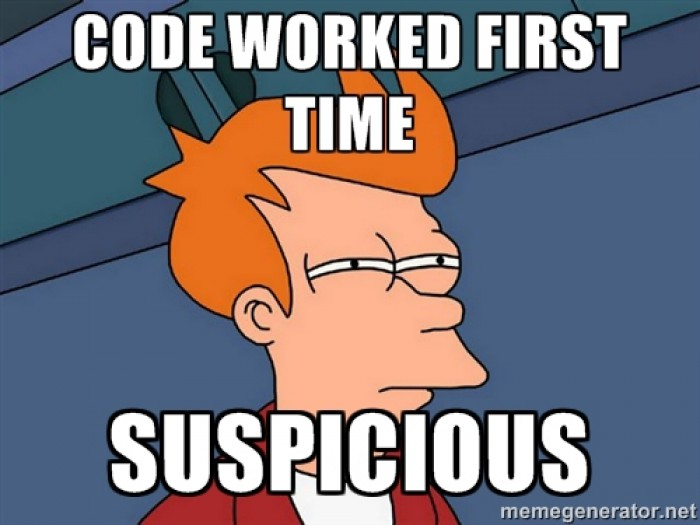 MRW code works the first time