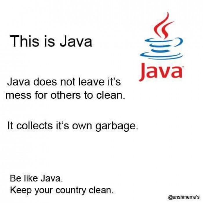 Be like java