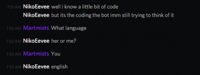 coding in english
