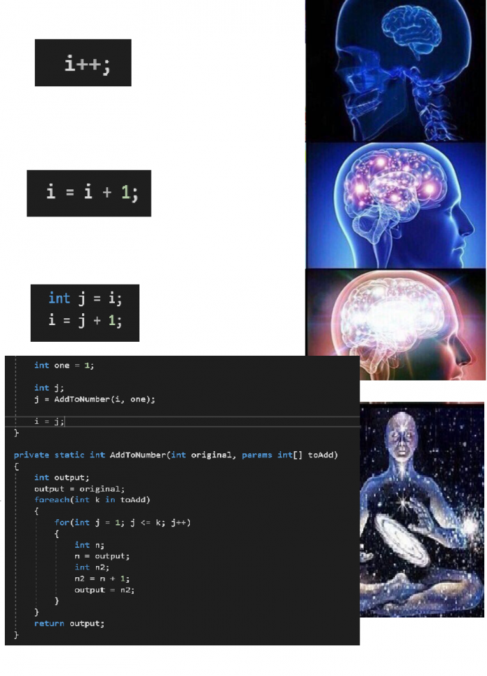 They say incrementing is easy