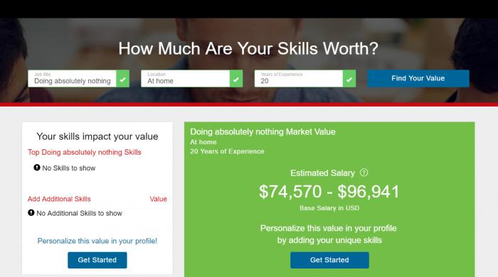 Dice's New Salary Tool- I think I found my new career!