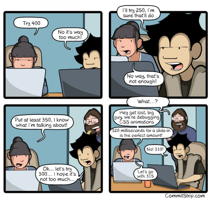 [commitstrip] Debugging front end