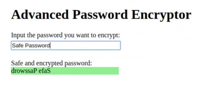 I made this simple and safe password encryption tool.