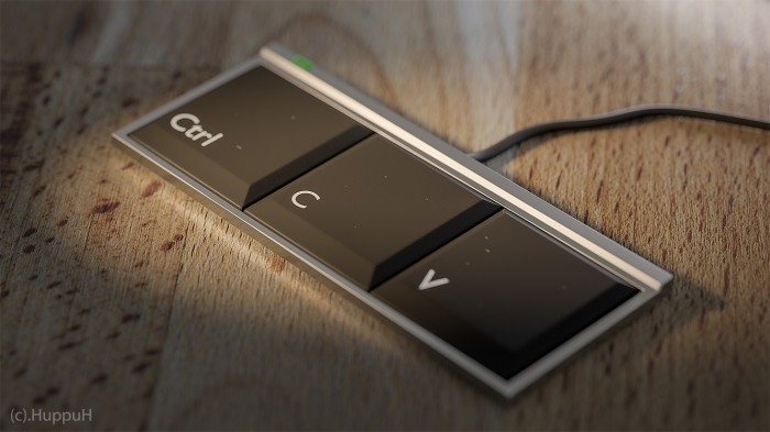 "The only keyboard most ""programmers"" need."