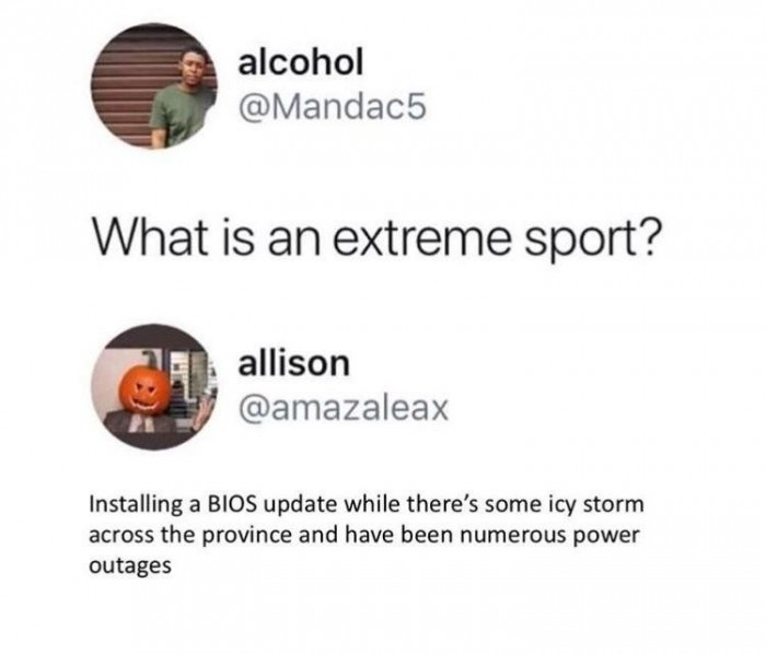 What's an extreme sport?