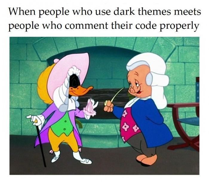 Dark theme master race