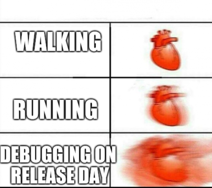 Debugging on release day