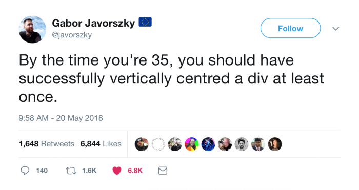 By the time you're 35...