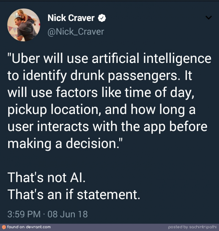 That's not AI.