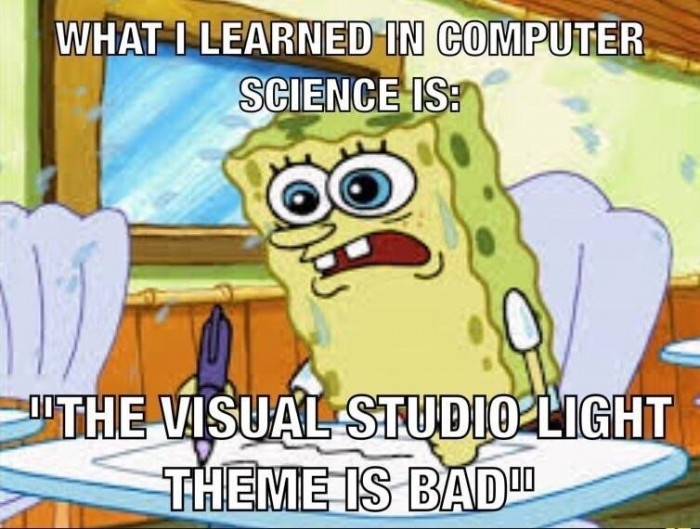 What I learned in computer science is...