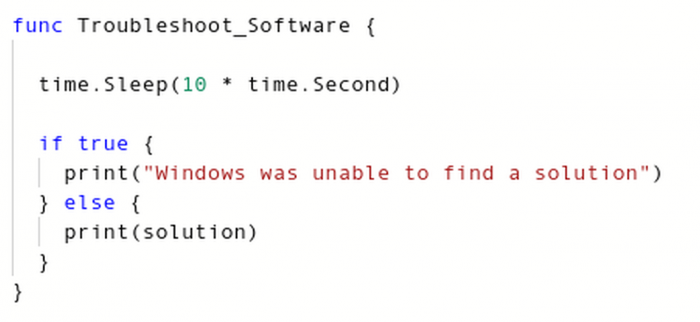 "Windows ""Program has stopped working"" diagnostic tool source code leaked! (2018)"