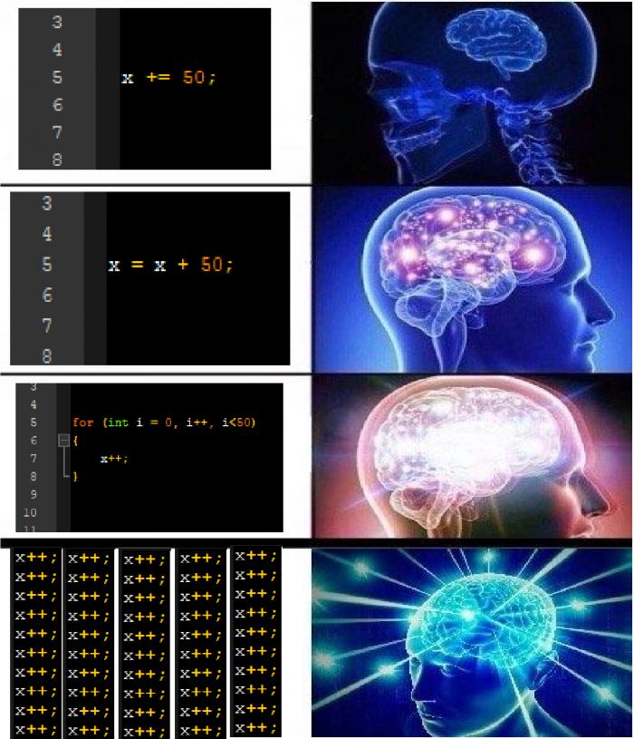 x += 50;