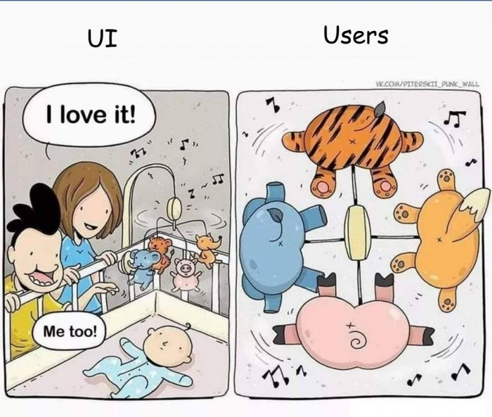 UI vs Users