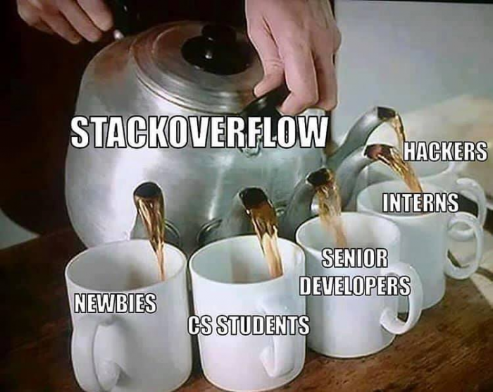 Stackoverflow is for eaveryone