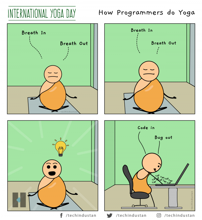How Programmers Do Yoga
