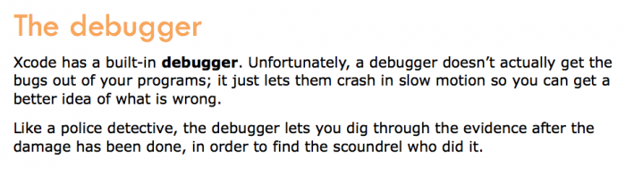 What debuggers actually do