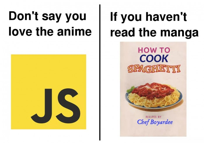 Don't say you love the anime