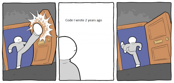 Old code
