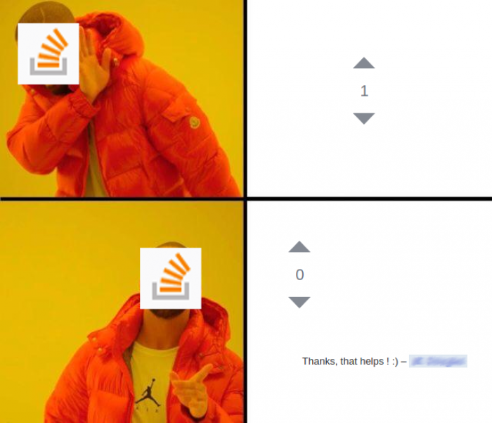 I didn't want the upvotes anyway