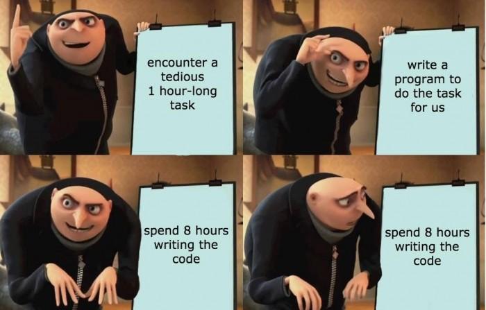 Gru automatizes tasks