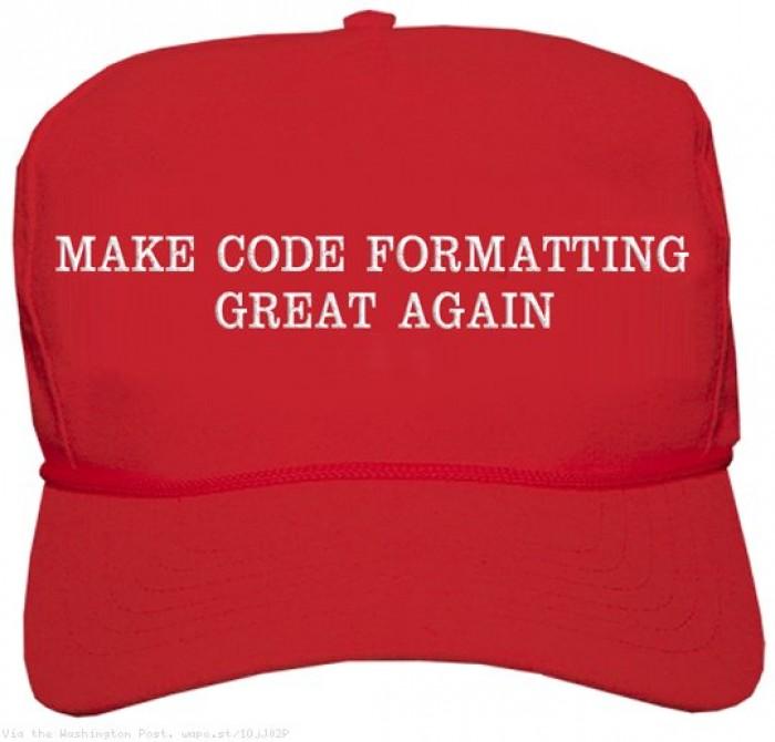 make code formatting great again
