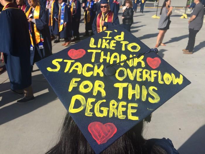 My favorite cap from graduation