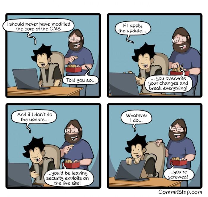 Coder dilemma - the upgrade