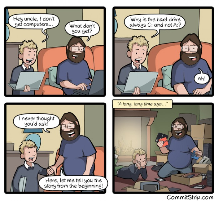 [commitstrip] a: drive story