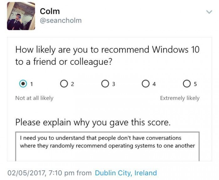 Colm's got a point tbh