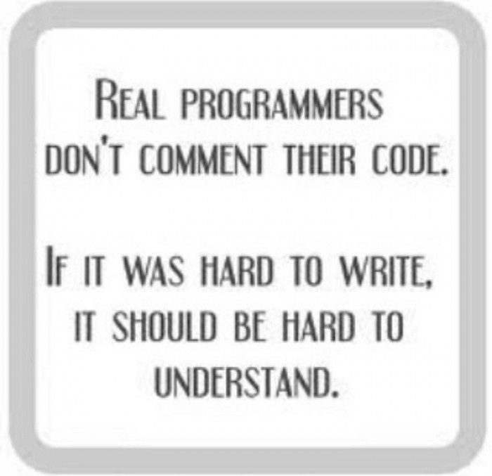 Real programmers