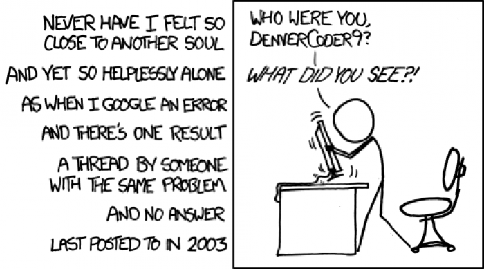 [xkcd] Wisdom of the Ancients