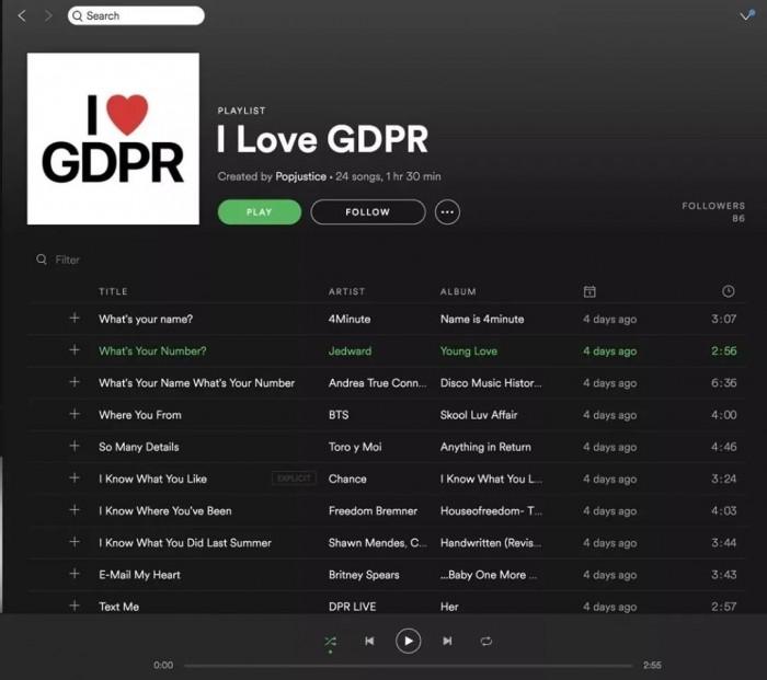 GDPR everywhere